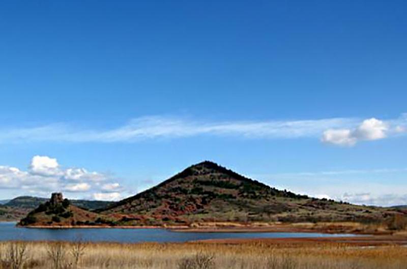 Lac du Salagou - Celles
